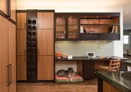 Custom Head Cabinet Built In Wine Cabinet Wine Cellar Transitional With Beige Flooring
