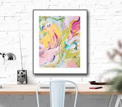 abstract prints large wall art print watercolor abstract painting