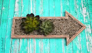diy succulent planter vertical garden crafts unleashed