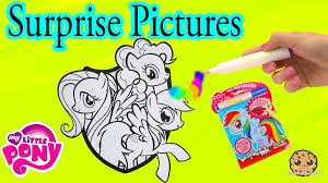 my little pony imagine rainbow ink book with surprise color