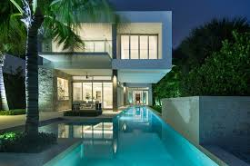 architecture courtyard modern house design with pool ideas and