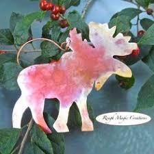 folk art angel christmas tree ornament hand by roughmagicholidays