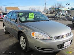 dark silver metallic 2007 chevrolet impala ls exterior photo