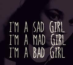 Mia Bad Girls Lyrics I U0027m A Sad I U0027am A Mad I U0027m A Bad