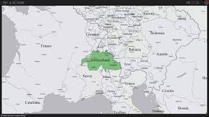 Map Of Switzerland And France by History Map Of Switzerland Youtube