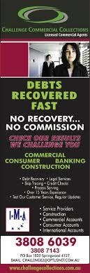 Challenge Commercial Challenge Commercial Collections Debt Collection Po Box 1835