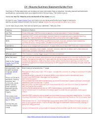general resume summary corol lyfeline co