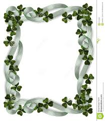 st patrick u0027s day borders 3d illustration for st patrick u0027s day