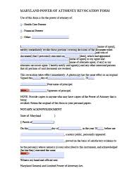 Letter Of Power Of Attorney Format by Maryland Tax Power Of Attorney Form Power Of Attorney Power Of