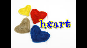 pipe cleaner craft heart easy youtube
