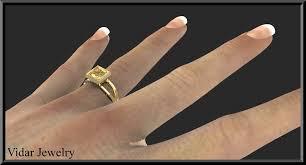 citrine engagement rings yellow citrine engagement ring vidar jewelry unique custom