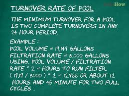 7 Steps And 70 Hours by How To Know How Many Hours To Run A Pool Filter 4 Steps