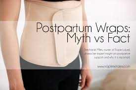 postpartum belly wrap myth vs fact the about postpartum wrapping