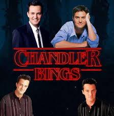 Chandler Meme - chandler bings stranger things know your meme