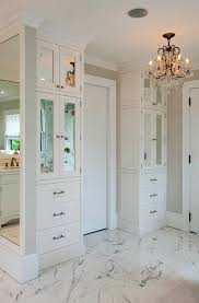 Mirrored Bathroom Furniture Cool Mirrored Bathroom Cabinets Transitional Crown Point In Built