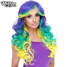 mardi gras fashion rockstar wigs triflect collection mardi gras 00832 dolluxe