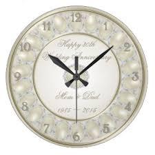 Wall Clocks Wedding Wall Clocks Zazzle