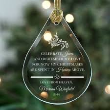 memorial christmas ornaments memorial christmas ornaments giftsforyounow