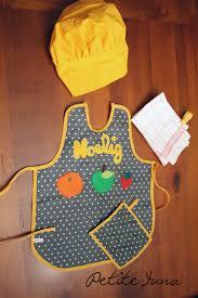 tablier et toque de cuisine cadeaux noël 3 tablier de cuisine yuna