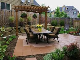 Deck And Patio Ideas For Small Backyards Small Back Yard Design Zamp Co
