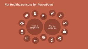 medical icons layout design for powerpoint slidemodel