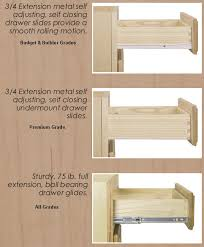 Cool  Kitchen Cabinet Drawer Boxes Design Decoration Of Kitchen - Kitchen cabinet drawer rails