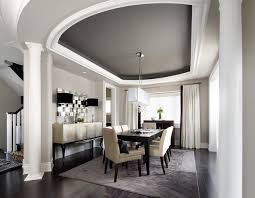 Interior Design Dining Room Ideas - 15 tips on how to make your ceiling look higher contemporary