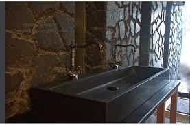 Double Trough Sink Bathroom 47