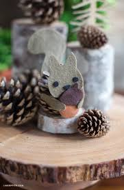 pinecone felt squirrel lia griffith