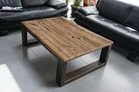 Table Chene Massif Moderne by Table Basse Design Chene Massif U2013 Phaichi Com