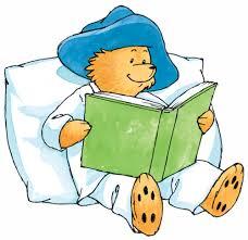 reading paddington bear wall decal nursery