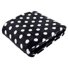 Black And White Polka Dot Valance Polka Dot Blankets U0026 Throws You U0027ll Love Wayfair