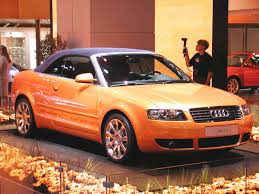 audi a4 convertible 2002 2001 frankfurt auto iv