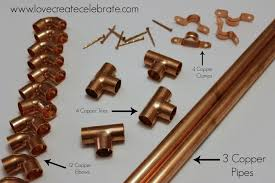 copper wine rack love create celebrate