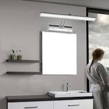 Adjustable Bathroom Mirrors - 2017 550mm adjustable bathroom mirror light pouplar led mirror