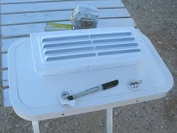 plastic vents for cabinets how to add louvered vent to rv cabinet door for exterior compartment