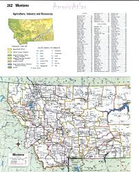 Montana Usa Map by Topographic Map Of Montanafree Maps Of North America