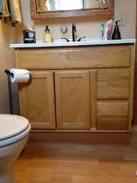 solid wood bathroom cabinet small bathroom decoration using solid oak wood small bathroom vanity