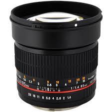 rokinon 85mm f 1 4 as if umc lens for canon ef 85m c b u0026h photo