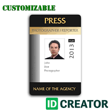 photographer id same day shipping from idcreator