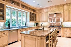 what color countertops with oak cabinets granite countertops with light cabinets trekkerboy