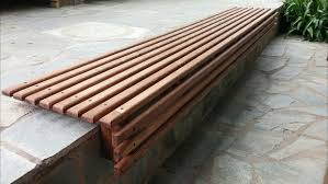 bench the most outdoor wooden slat seat 20 steps with pictures