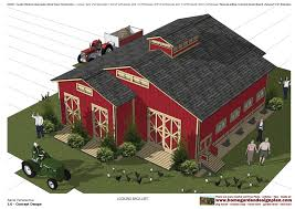 Red Barn Plans Home Garden Plans Cs100 Combo Chicken Coop Plans Garden Shed