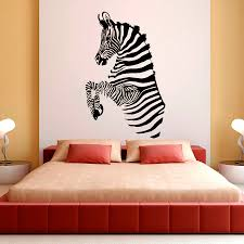 removable wall stripes promotion shop for promotional removable zebra stripes wall decals african wild animals living room removable wall stickers for kids bedroom vinyl diy art mural syy282