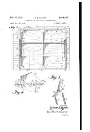 tilt up garage doors patent us2628385 mounting for tilt up type garage doors google