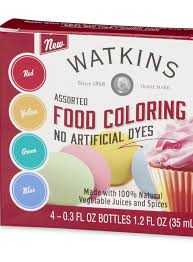 j r watkins launches a natural food coloring kit the city cook