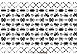 aztec ornament and arrow pattern free vector stock