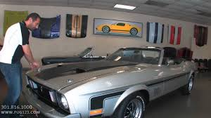 mach 1 mustang convertible 1973 ford mustang mach 1 convertible for sale flemings with test
