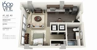 bedroom 2 one bedroom apartments 1 bedroom apartment house plans