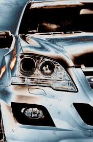 mercedes headlights mercedes ml new suv headlights stock photo image of blue america